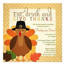 turkey thanksgiving dinner invites