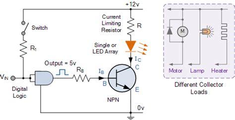 transistor controls using a cd4066 5v and 9v