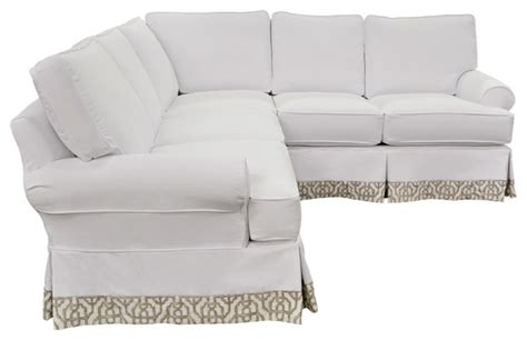 beachy sectional sofas beach inspired washable white sectional beach style