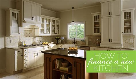 kitchen cabinet financing financing your kitchen remodel