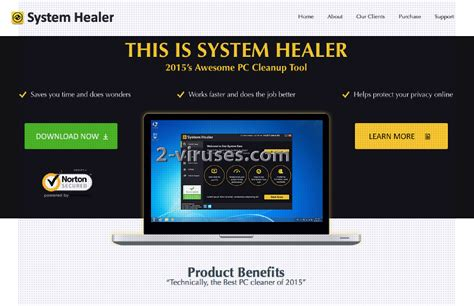 how to uninstall system healer system healer how to remove 2 viruses com