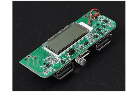 Promo Powerbank Robot Rt7200mah Smart Power 1 two usb mobile power bank charger pcb board 6876 from icstation on tindie