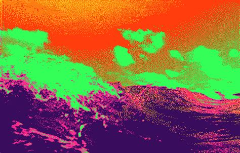 colorful gif distorted