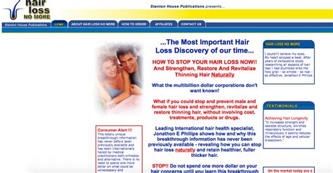 dr blount hairloss fraud hair rejuvenator program ebook scam hair rejuvenator