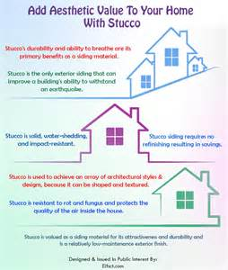 add aesthetic value to your home with stucco siding