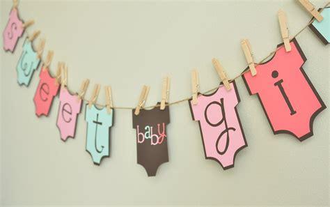 Banner Baby Shower by Baby Onesie Banner Baby Shower Onesie Theme Baby