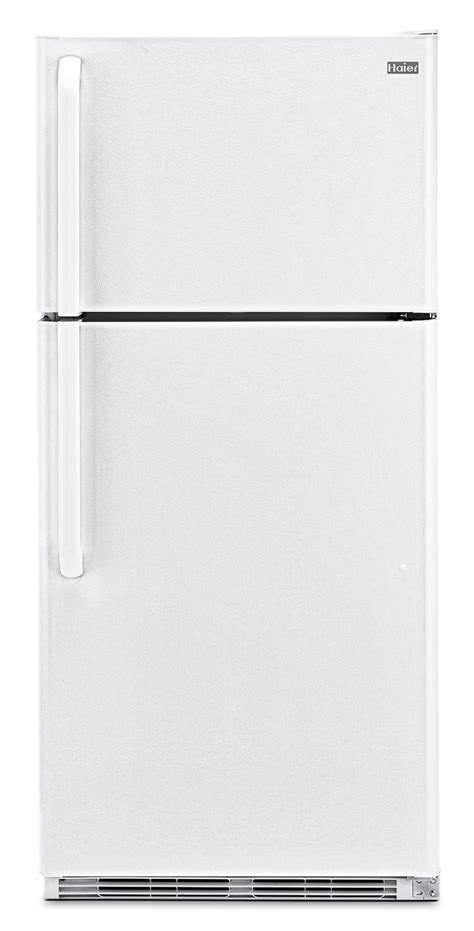 haier bedroom refrigerator haier 18 cu ft top mount refrigerator white freedom rent to own