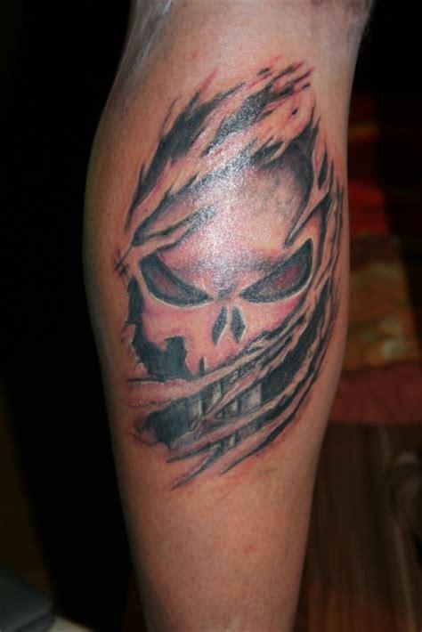 punisher tattoo photo hirbel punisher tattoos von tattoo bewertung de