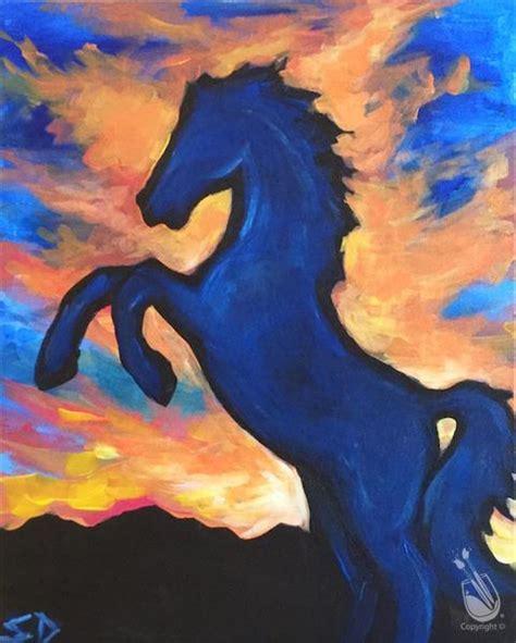 paint with a twist belmar go broncos orange and blue saturday november 12 2016