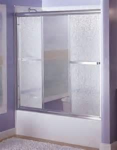 sterling 5771m 48 finesse tm 5700 series tri panel shower