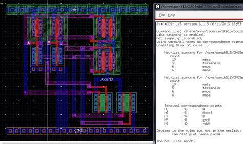 xor layout cadence lab 6 emmanuel sanchez