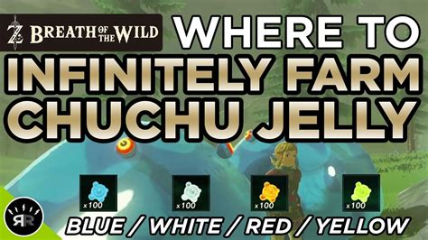 Jelly All Type breath of the infinitely farm chuchu jelly