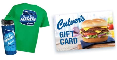 Culvers Gift Card - gift card thrifty momma ramblings