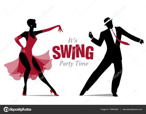 ballo swing 233 l 233 gant danse swing image vectorielle 130943202