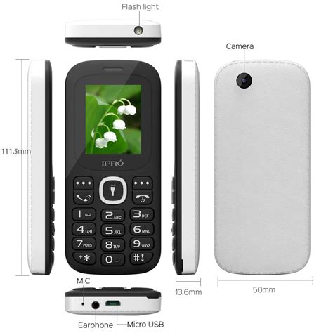 Hw Button Simple us ipro 1 8 quot big button basic simple senior cell phone for