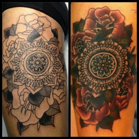 tattoo mandala cover up 32 best images about tattoo cover up ideas on pinterest