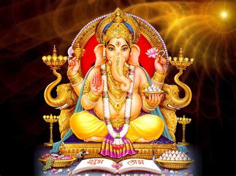 hindu god om lord ganesha wallpaper hindu god wallpapers free download