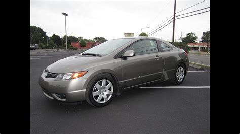 Honda Civic Lx 2008 by Sold 2008 Honda Civic Lx Coupe 5 Speed Manual Meticulous