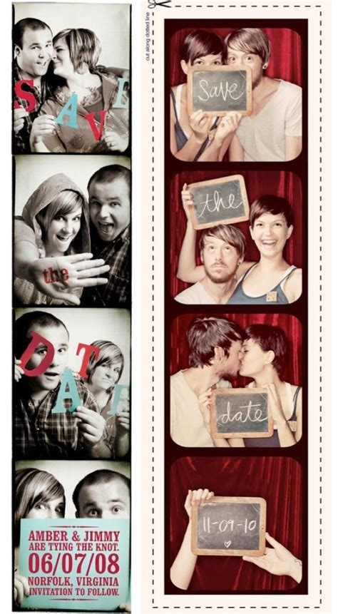 wedding invitations photo booth 17 best images about save the date photo booth on