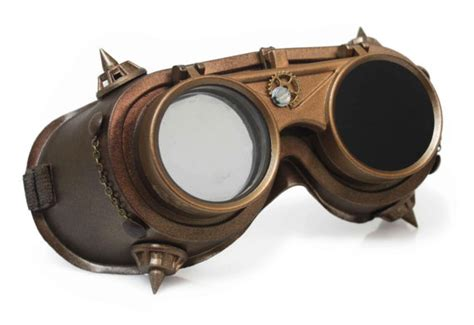 steampunk goggles burning man cyber goth industrial victorian lenses dieselpunk halloween