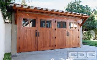 Door Canopy Awning Real Wood Carriage Garage Door Ideas With Matching