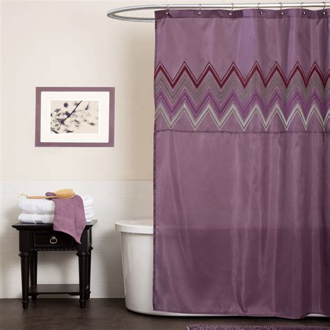 plum bathroom accessories lush decor myra plum shower curtain home bed bath