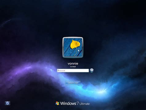 wallpaper on windows 7 lock screen how to change the logon screen background in windows 7