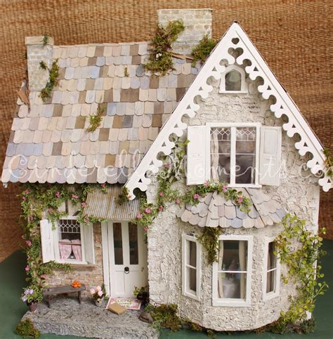 Doll Cottage by Cinderella Moments Wiltshire Cottage Dollhouse