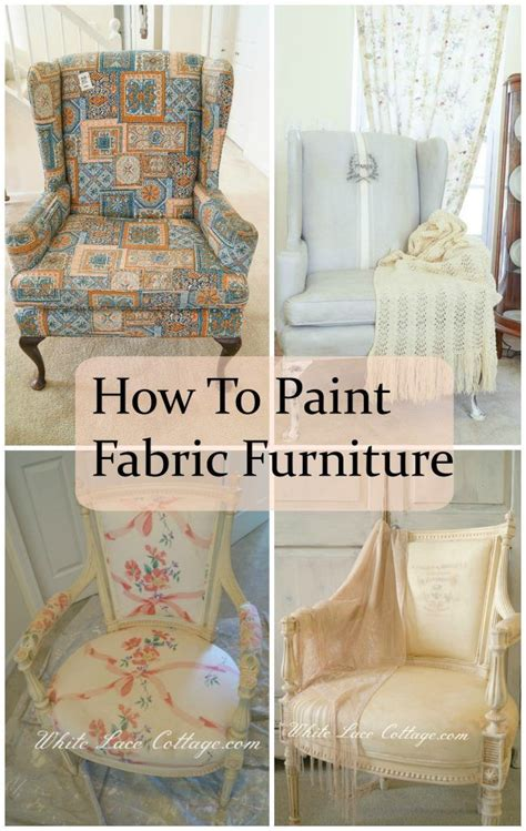 how to paint fabric upholstery 17 best ideas about lace painted furniture on pinterest