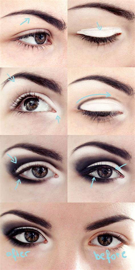 eye makeup tutorial no eyeliner how to do dark smokey eye makeup makeup vidalondon
