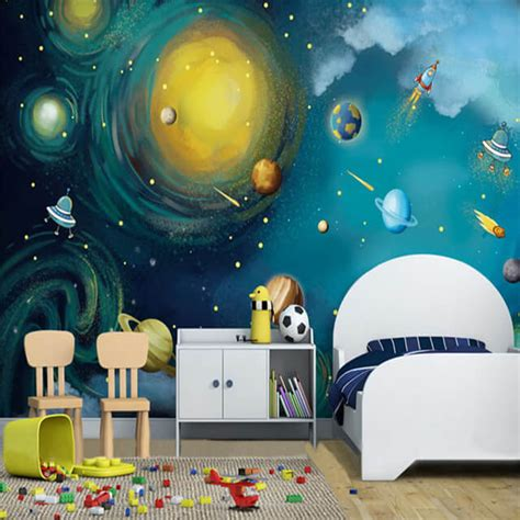 outer space bedroom wallpaper 50 space themed bedroom ideas for kids and adults