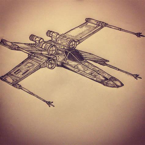 x wing tattoo x wing fighter wars ta sketches
