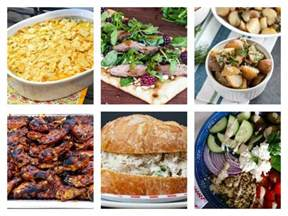 easy summer dinner ideas merry monday 156 two purple