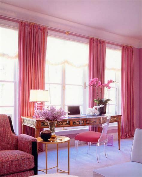 monochromatic rooms dipped in bubblegum monochromatic rooms