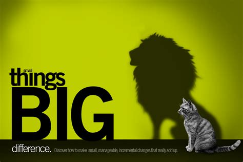 small things small things big difference one word waterline