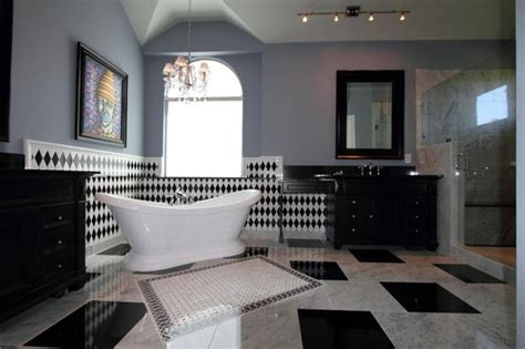 New Orleans Interior Decorators by New Orleans Themed Bathroom Remodel Transitional