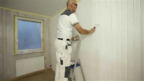painting wooden panelling step  step youtube