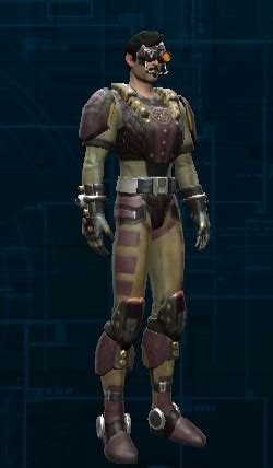 armor si鑒e social hutt cartel armor set wars the republic wiki
