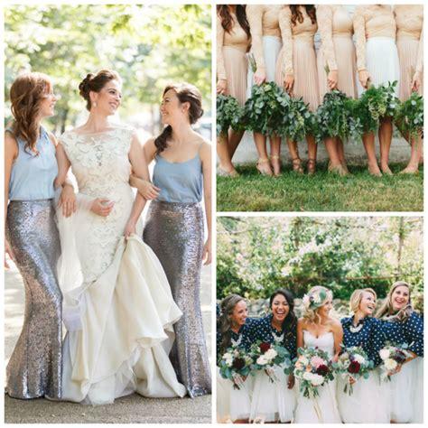 Bridesmaid Dresses Separates Uk - style file bridesmaids