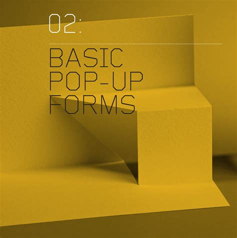 2 Basic Pop Up Forms Cut And Fold Techniques For Pop Up