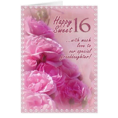 Happy Birthday Wishes Sweet 16 Happy Sweet 16 Birthday Card Zazzle