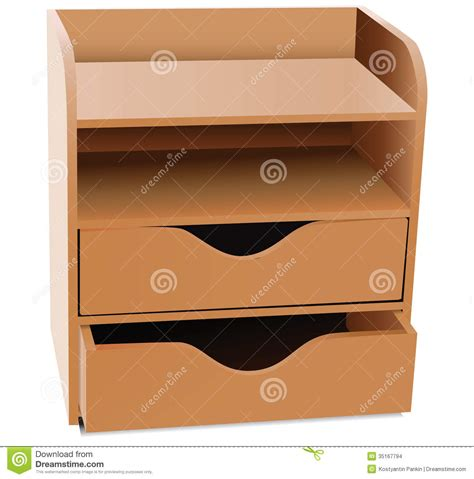 5 shelf desk organizer office shelves organizer stock vector image of office