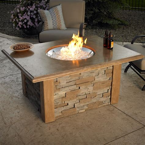 Have To Have It Outdoor Greatroom Sierra Gas Fire Pit Gas Patio Table
