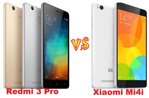 Flexibel Tc Xiao Mi Redmi Mi4 xiaomi redmi 3 pro vs redmi 3 vs mi4i what s different xiaomi advices