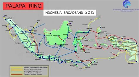 Jalur Rajut iif pimpin pendanaan proyek palapa ring paket tengah tekno liputan6