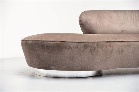 vladimir kagan serpentine sofa vladimir kagan serpentine sofa directional usa 1975 mid