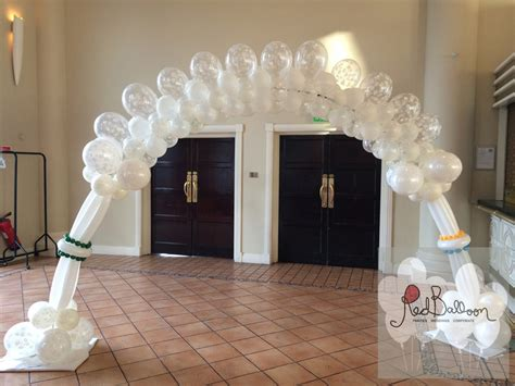 Wedding Balloon Arch by Weddings Balloons Balloon Cork