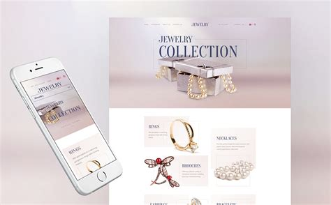 shopify themes luxury jewelry collection responsive shopify template