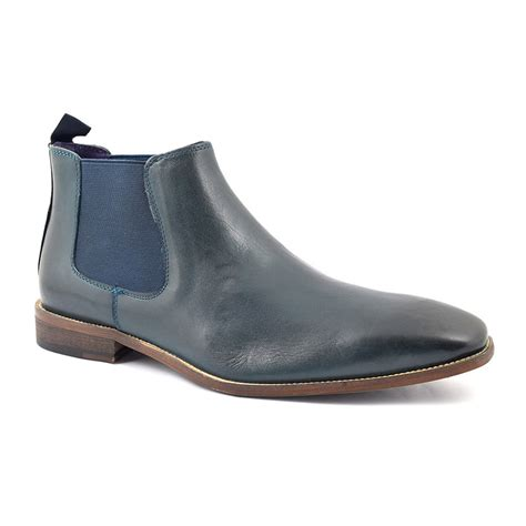 navy mens boots find mens navy chelsea boots gucinari style