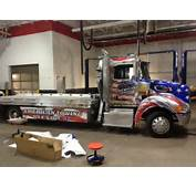 Tow Truck Graphics American Flag Big Dog Vehicle